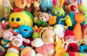 Sugar Creek Family Dental Amenities Fenton, MO - Cuddly Toys for Kids During Treatment